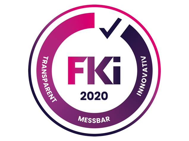 Signet des Frauen-Karriere-Index (FKi)
