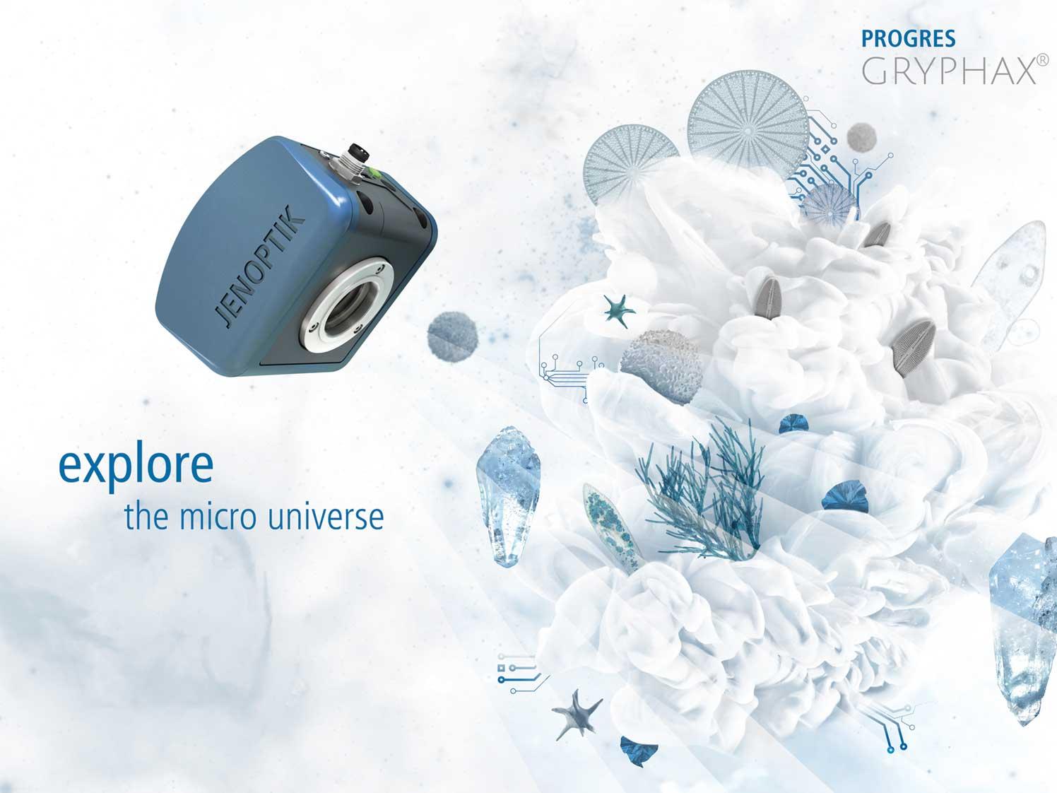 Bildaufnahme software für mikroskopkameras jenoptik